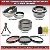 0.45x Lens & Filter Kit Fit Nikon Coolpix 8700 5700 New
