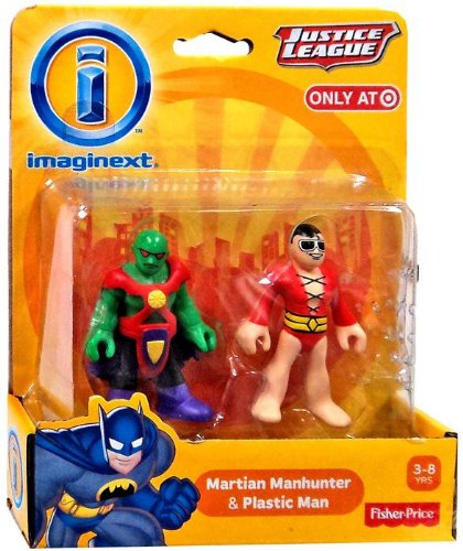 Imaginext Martian Manhunter And Plastic Man