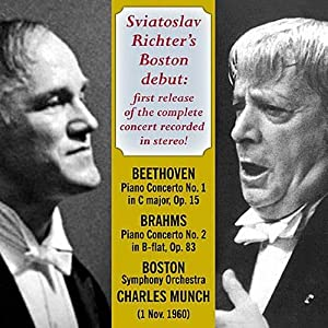 Sviatoslav Richter's Boston Debut