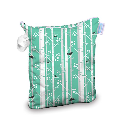 Thirsties Wet Bag, Aspen Grove - 1