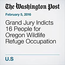 Grand Jury Indicts 16 People for Oregon Wildlife Refuge Occupation Other by Mark Berman, Leah Sottile Narrated by Sam Scholl