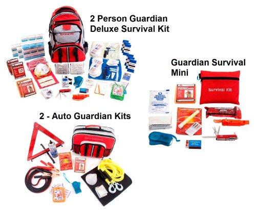 Guardian Survival Gear PPK2 2 Person Guardian Preparedness Package