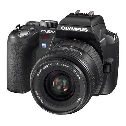 Olympus Evolt E500 8MP Digital SLR with Zuiko 14-45mm f/3.5-5.6 Digital SLR Lens