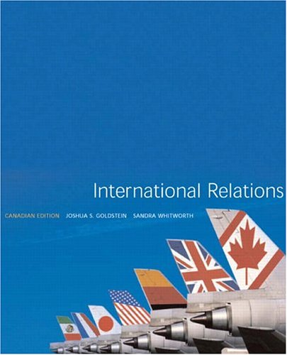 International Relations, Canadian Edition