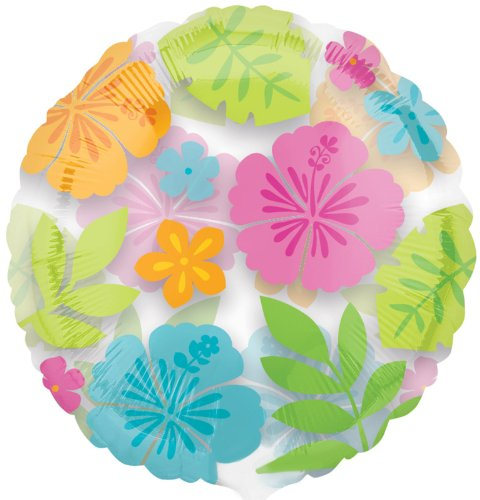 Wild Isle Luau Foil Balloon Party Accessory