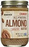 Woodstock Crunchy Almond Butter, No S…