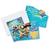 Disney Toy Story Party Invitations - 8 per Pack