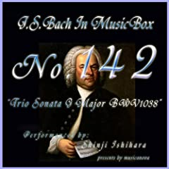 Bach In Musical Box 142 / Trio Sonata G Major Bwv1038