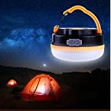 Outdoor LED Lantern - Camping Lantern Built-in Magnet - Hurricane Lamp - Rechargeable Lantern Built-in 1200mAh Lithium Battery - Ultra Bright 180 Lumens Emergency Light by LighTouch