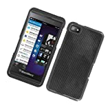 Eagle Cell PIBB10G127 Stylish Hard Snap-On Protective Case for BlackBerry Z10 - Retail Packaging - Carbon Fiber