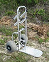 Beach Dolly Cart with Wheeleez Wheels, Made in USA!