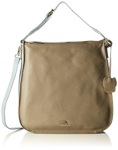Paul & Joe SisterShoulder bag - Borse a Tracolla Donna , Grigio (Grau (070)), 33x32x9 cm (B x H x T)