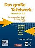 Image de Das große Tafelwerk interaktiv 2.0 - Allgemeine Ausgabe (außer Niedersachsen und Bayern): Das gros
