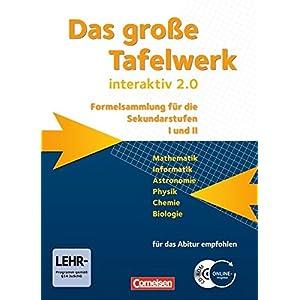 Das große Tafelwerk interaktiv 2.0 - Allgemeine Ausgabe (außer Niedersachsen und Bayern): Das gros
