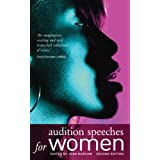 Audition Speeches for Womenby Jean Marlow