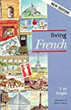 img - for Living French book / textbook / text book