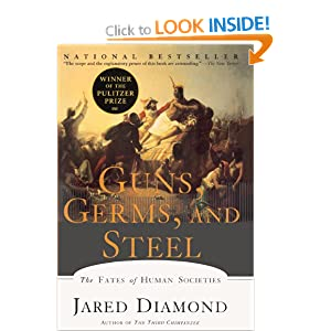 major thesis of guns germs and steel Guns, germs, and steel is an anthropological study that charts and explains the fates of different wars of conquest constitute a major theme throughout.