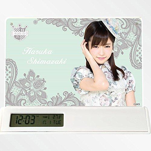 AKB48 目覚まし時計 デジタルクロック 島崎遥香 ぱるる グッズ