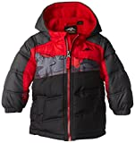 Pacific Trail Baby Boys' Puffer Coat with Camo Piecing Insert