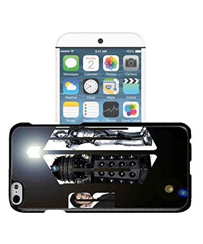 iPhone 7 Custodia Doctor Who Logo TV Serien Antigraffio Apple iPhone 7 (4.7 Pollici) Custodia Case Cover, Shell Personalized Design TV Show iPhone 7 Custodia Cover