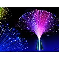 Colour Changing Fibre Optic Fountain - Night light Calming Lamp from Home Living
