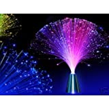 Colour Changing Fibre Optic Fountain - Night light Calming Lampby Home Living