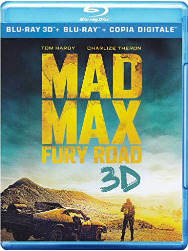 Brd Mad Max - Fury Road (2d+3.d) (2D+3D) [3D Blu-ray] [IT Import]