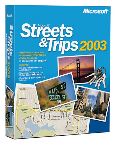 Microsoft Streets & Trips 2003