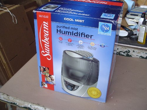 Image of Sunbeam Mid Room Cool Mist Humidifier (SCM2412)