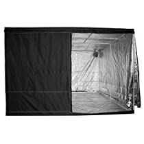 Hot Sale LEDwholesalers GYO1013A 120-Inch x 120-Inch x 78-Inch Mylar Reflective Hydroponic Grow Tent