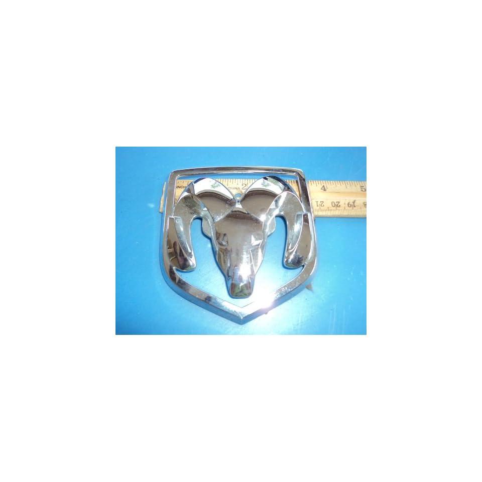 Dodge Ram Head Silver Chrome Emblem 5507771800