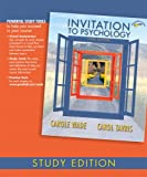 Invitation to Psychology, Study Edition (3rd Edition) (0132238934) by Wade, Carole