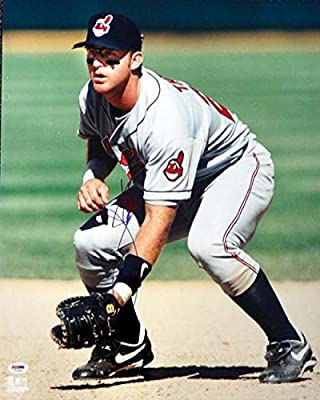 Jim Thome Cleveland Indians Autographed PSA/DNA Authenticated 16x20 Photo Indians - Signed Photos