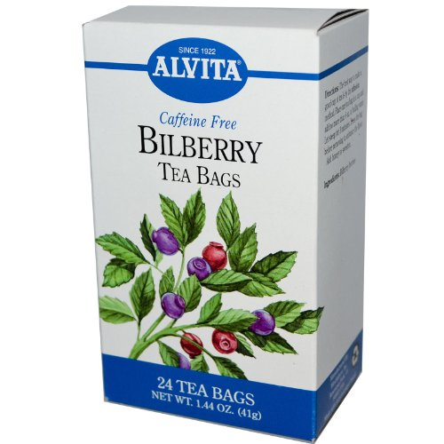 Alvita - Bilberry Tea Bags, 24 Bag