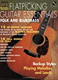 Image of Flatpicking Guitar Essentials Book/CD (String Letter Publishing) (Acoustic Guitar) (Acoustic Guitar Magazine's Private Lessons)