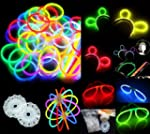 100 8&quot; Glow Stick Bracelets,mixed Col...