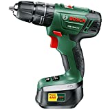 Advanced Bosch POWER4ALL PSB 1800 LI-2 18v Cordless 2 Speed Combi Drill with 2 Lithium Ion Batteries 1.5ah [Pack of 1] --