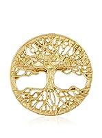 Cordoba Jewelles Anillo (plata de ley 925 milésimas bañada en oro)