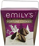Emilys Fortune Cookies, Premium Covered with Chocolate, 3.5 Ounce