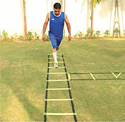 Pepup Super Flat Adjustable Speed Agility Ladder (4M with 10 rungs)