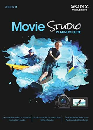 Sony Movie Studio Platinum Suite 12 [Téléchargement]