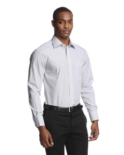 Acquaviva Men's Striped Dress Shirt