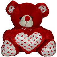 Taringo24h Heart & Bow Red Teddy Bear 15 Inch