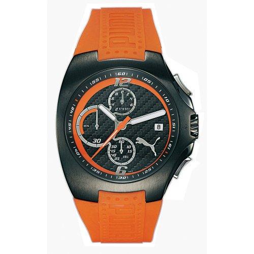 Puma Men's Gear Chronograph Orange Rubber Watch #PU130F5C0214.930 - Buy Puma Men's Gear Chronograph Orange Rubber Watch #PU130F5C0214.930 - Purchase Puma Men's Gear Chronograph Orange Rubber Watch #PU130F5C0214.930 (Puma, Jewelry, Categories, Watches, Men's Watches, Casual Watches, Rubber Banded)