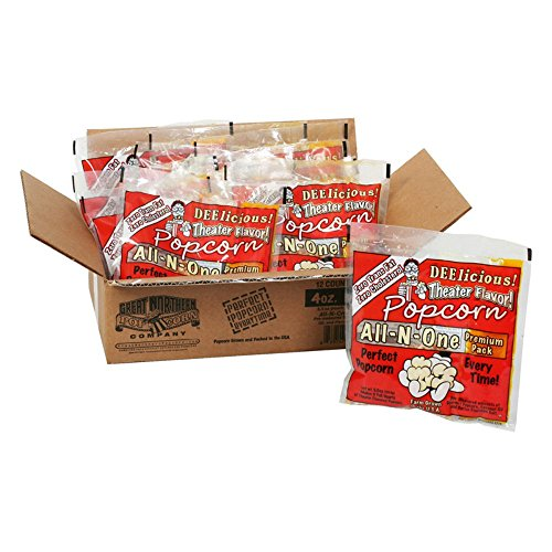 Great Northern Popcorn Great Northern Popcorn 4 oz. Popcorn Portion Packs - Case of 12