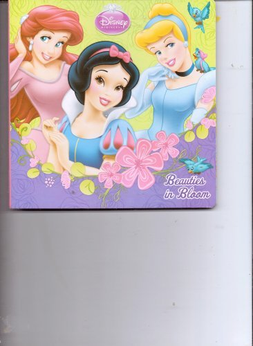 Disney Princess ~ Beauties in Bloom Board Book (2013) - 1