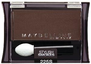 Maybelline New York Expert Wear Eyeshadow Singles, 225S Made for Mocha Stylish Smokes, 0.09 Ounce