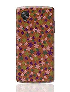 PosterGuy Google Nexus 5 Case Cover - Summer Flowers   Designed by: Wowtips