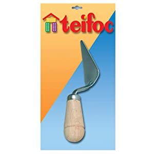 Teifoc Masonry Trowel Brick and Mortar Building Set and Educational Toy - Intro to Engineering and STEM Learning
