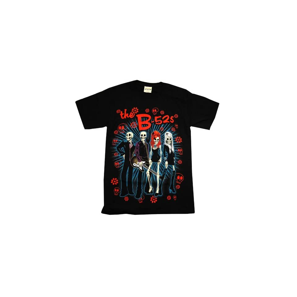 The B 52s Day Of The Dead Rock Band Adult T Shirt Tee